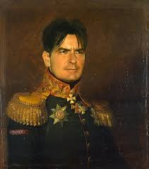 steve took digital copies of george dawe s paintings of russian generals and added celebrities faces to