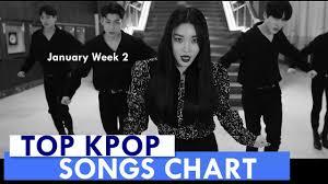 Kpop Chart 2019 Top 60 Kpop Songs Chart January Week 2 2019 Kpop Chart Kpc