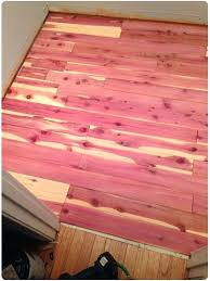installing cedar flooring closet unfinished tongue and groove appearance boards planks hardwood compressed