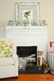 ... Pretty Easter Mantel Ideas | Easter Decorations