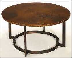amazing coffee table top w copper top wayside furniture round copper top coffee table