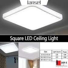 Đèn led trắng gắn trần nhà 2W/24W/36W - Đèn trần
