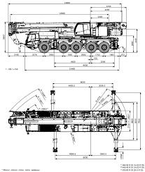 Tadano Atf 110g 5 Load Chart 110 Ton Mobile Crane All Terrain Tadano Atf110g