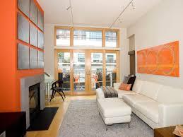 Orange Color Living Room Designs Behind The Color Orange Hgtv
