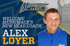 Alex Loyer Named Interim Men's Tennis Head Coach - Merrimack ...