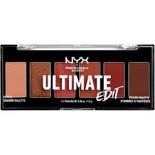 nyx ultimate edit eye shadow palette