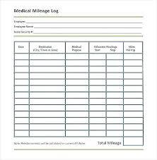Printable Mileage Log Templates Free Template Lab Vehicle