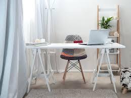 Desk Office Desk 144 Fold Down Desk Table Wall Cabinet With Chalkboard White
