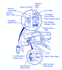 1996 honda prelude fuse box 1996 wiring diagrams