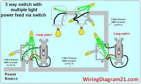 3 way switch wiring diagram house electrical wiring diagram Light Switch Wiring Diagram 2 3 way switch wiring diagram multiple light double howto wire a light switch light switch wiring diagrams