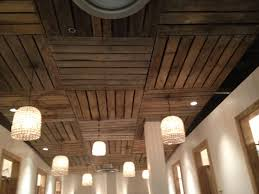 Cheap Ceiling Ideas Beautiful Pallet Ceiling Ideas Basements Pallets And Ceilings