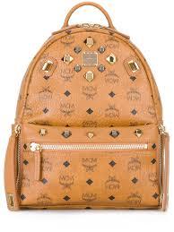 Designer Mcm Meaning Mcm Cheap Bags Mcm Logo Print Backpack Women Bags Mcm Belt