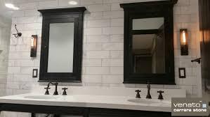 Subway wall tile Design Ideas Carrara Venato Marble Polished 4x12 The Builder Depot Carrara Venato Marble Polished 4x12