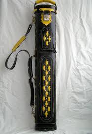 pool cue case genuine leather cue case hand tooled design erofey evladin