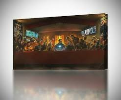 last supper s wall art poster