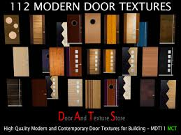 front house door texture.  Texture 112 Modern Door Textures  Full Perm Texture Pack For Builders   Contemporary Doors And On Front House X