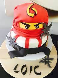 Ninjago cake | Ninjago kuchen, Ninja kuchen, Ninja geburtstagskuchen