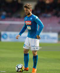 Dries Mertens of SSC Napoli in action during the Serie A football... Foto  di attualità - Getty Images