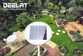 deelat industrial outdoor s solar powered landscape lighting yard light