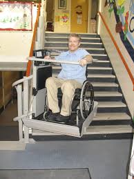 Exterior Wheelchair Lift AbleData - Exterior wheelchair lifts