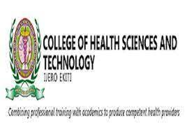 College of Health Sciences and Technology Ijero Ekiti Admission Form  2020/2021 is Out : Downloadpastquestionpdf