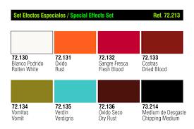 Set Vallejo Game Color 17 Ml Special Effects Bellesartsferran Com