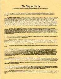 the signing of the magna carta years ago today stephen liddell magna carta text