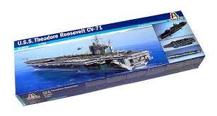 Italeri Military Model 1 720 War Ship U S S Theodore Roosevelt Cv 71