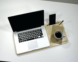 wooden lap desk with storage image pillow table forp cup holder lapdesk portable tray stand cooler