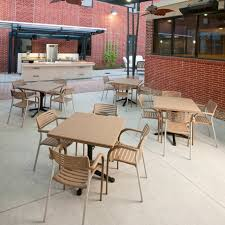 brilliant commercial outdoor tables commercial outdoor furniture amazing commercial outdoor tables t 3 collection cast aluminum outdoor furniture