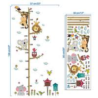 Children S Height Growth Chart Measure Wall Hanging Ruler Decal Kids Baby Room