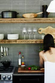 Rustic Kitchen Shelving 17 Best Ideas About Open Kitchen Shelving On Pinterest Kitchen