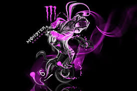 pink fox racing wallpaper. Delighful Pink Fox And Monster With Pink Racing Wallpaper A