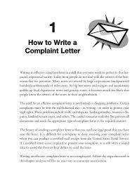 complaint letters that get results 22 4 • 101 complaint letters