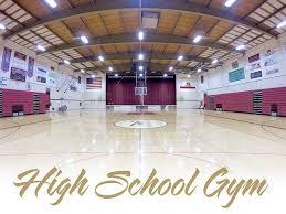high school gym. High School Gym Renovation