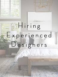 Hiring Experienced DesignersBECKI OWENS