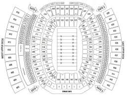 Everbank Field Seating Chart 61 Veritable Everbank Stadium View From Seats