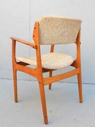mid century modern pair of danish modern erik buck no 49 armchairs o d mobler