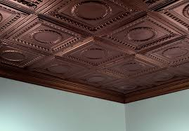 decorative ceiling tiles. The Real Copper Ceiling Tiles Dlrn Design Fake Intended For Decorative Designs