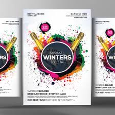 Downloadable Poster Templates 3896 Flyer Templates For Free Download On Pngtree