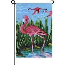 flamingo garden flags. Fine Garden Pink Flamingo Garden Flag  With Flags S