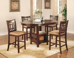 black dining room sets. Amazon.com: Coaster Lavon 5 Piece Counter Table And Chair Set In Cherry: Dining Room Furniture Sets: Kitchen \u0026 Black Sets