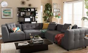Living Room With Sectional Sofa Furniture Modular Sectional Sofa L Shaped Sofa Living Room