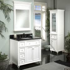 Classy Coastal Cottage Bathroom Vanities With White Wooden Vanity