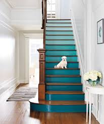 Decorating: Rainbow Stairs Color - Painted Stairs