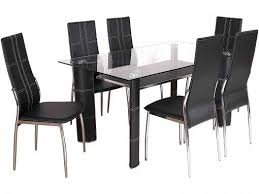 glass dining furniture. kentucky black glass dining table set furniture w