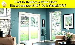 replace sliding glass door cost how much do sliding glass doors cost cost to replace sliding