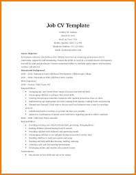 7 How To Make A Cv For First Job Monthly Budget Forms