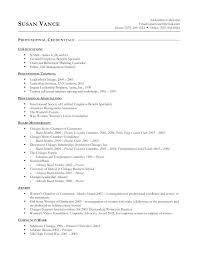 Example Basic Resume – Directory Resume