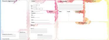 Blank Oc Reference Sheet By Arisaxkureno Deviantart Com On